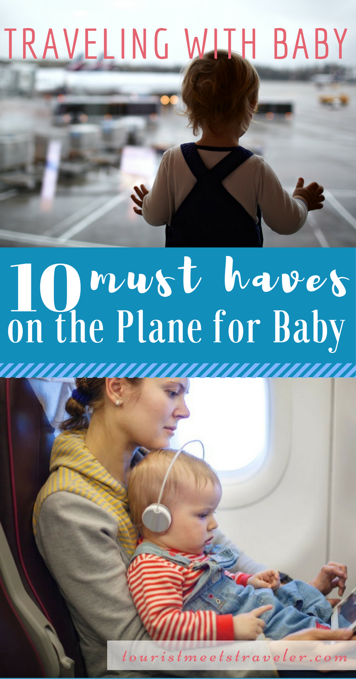 10 Things to Bring on a Plane When Traveling with A Baby