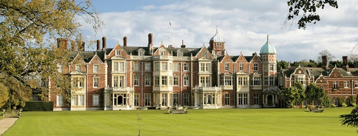 Royal Retreat - Stay at Queen Elizabeth's Sandringham Estate and Be Neighbors of Kate and Prince William