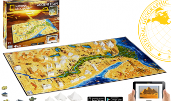 National Geographic 4-D Ancient Civilizations Puzzle – The PERFECT Holiday Gift