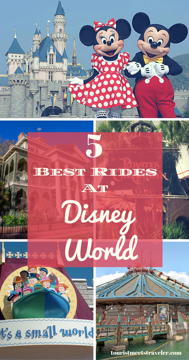 5 Of The Best Rides at Disney World