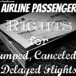 Airline Passenger Rights for Bumped, Canceled or Delayed Flights