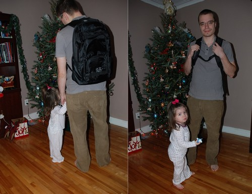 Traveling To Grandma's With The Daddy Diaper Pack: A Day of Holiday Baking