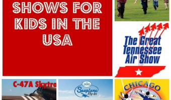 Best Air Shows for Kids in the Country