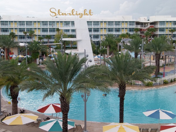 Cabana Bay Beach Resort has two wings, each surrounding a pool complex ...