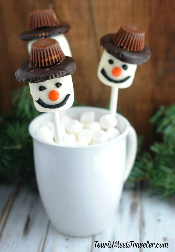 Christmas Treat Recipe Marshmallow Peanut Butter