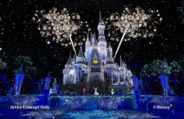 Disney's Magical Kingdom 'Frozen' Lines, Castle and New Ride Due in 2016