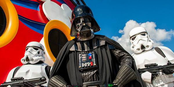 Disney's Star Wars Themed Cruise Star Wars Day at Sea