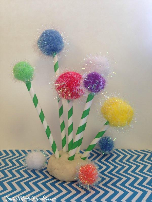 Dr. Seuss's Truffula Trees Craft for Kids