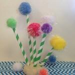 Dr. Seuss Truffula Trees Craft for Kids