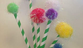 Dr. Seuss Truffula Trees Craft for Kids
