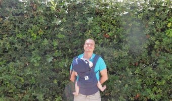 "Travel Tip: Ergobaby Organic Baby Carrier ""Perfect For Traveling"""