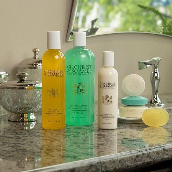 Pamper Yourself at Hotels and at Home With These Gilchrist & Soames Beauty & Bath Products - We LOVE Them!