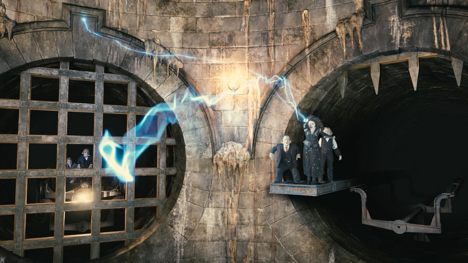Escape From Gringotts Ride Video Footage And Details