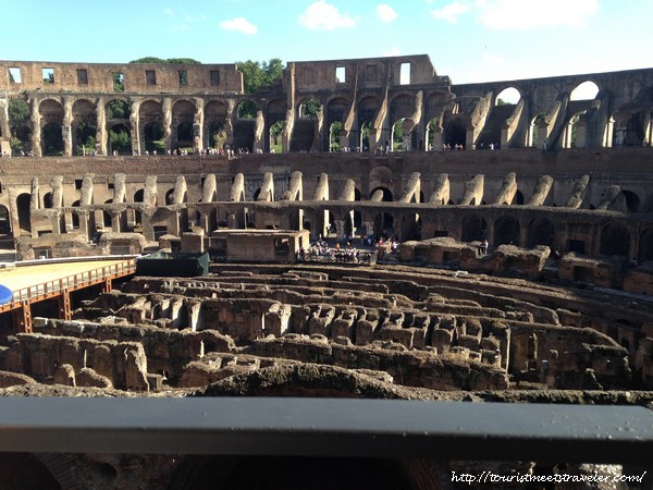 The Best Colosseum Tour In Rome The Roman Guy Exclusive Experience Was The Highlight Of Our