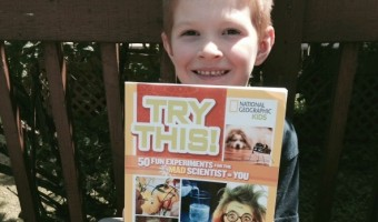 "National Geographic Kids' Book ""Try This!"" Review & Giveaway: Making Science Fun"