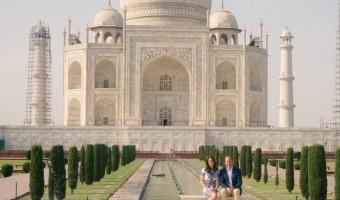 Kate Middleton and Prince William Re-Create Princess Diana's Iconic Taj Mahal Photo #RoyalVisitIndia