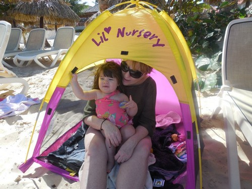 Mommy Travel Tip: Star Light Lil Nursery Tent