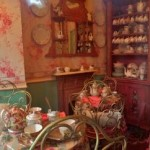 Madam Puddifoots tea shop - wizarding world of harry potter photos