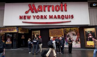 "Hotel Review: New York Marriott Marquis ""Great Hotel, Great Location"""