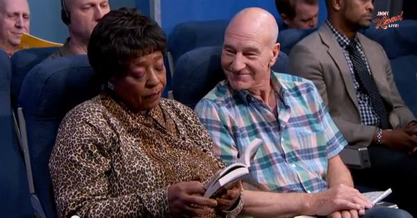 The Most Annoying People On A Plane – Patrick Stewart Edition, Plus How To Deal