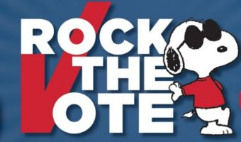 "Nikki DeLoach Promotes Peanuts ""Rock The Vote"" Initiative – Win A 'Rock The Vote' Prize Pack #Giveaway"