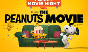 "Have A Peanuts Family Movie Night – Win A Digital Download of ""The Peanuts Movie"" #PeanutsMovieNight"