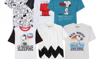 Snoopy Style is Hot: Win One Of Three Men's Peanuts Tees #Giveaway