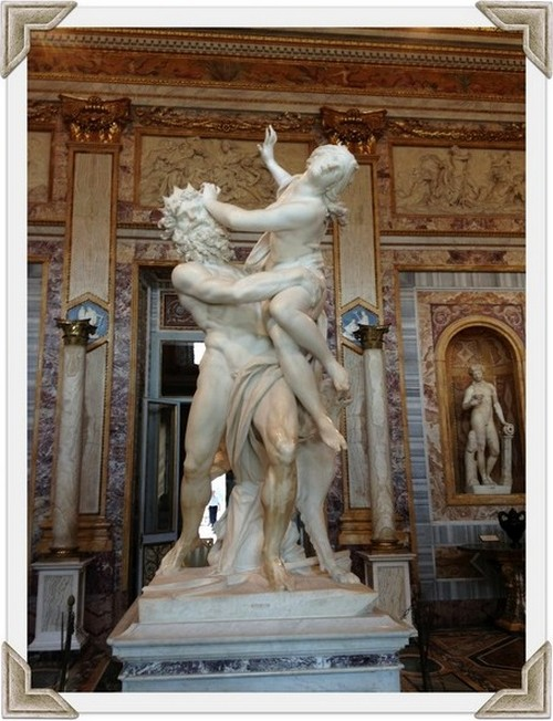 Très Visiting The Borghese Gallery In Rome: Three Must See Bernini  CM02