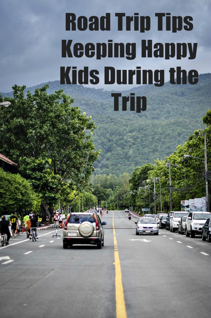 Road Trip Tips: 6 Ways To Keep Your Kids Happy While You Drive