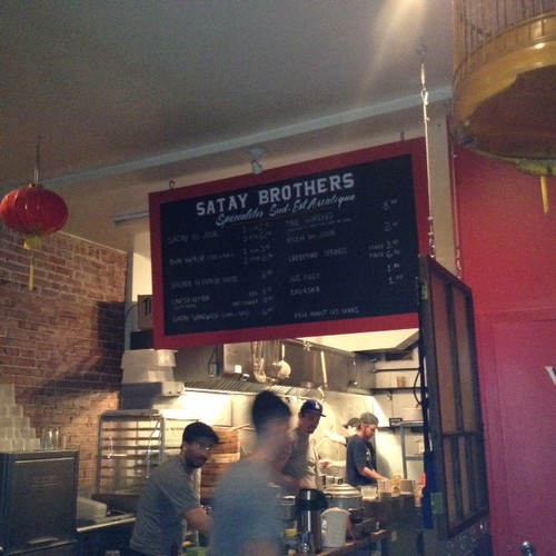 Satay Brothers - Amazing Restaurant With Delicious Singaporean Food