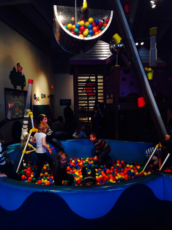 Science Center ball pit