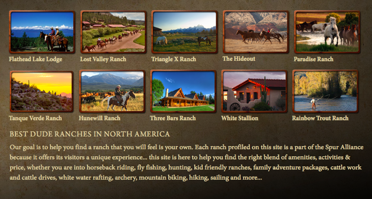 Summer Vacation Planning Tool - The Spur Alliance Will You Find the Perfect Dude Ranch