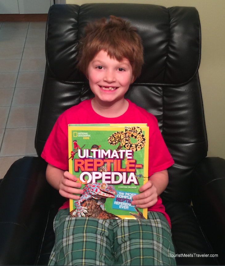 National Geographic Kids: Ultimate Reptileopedia - Fun and Educational Gift for Kids
