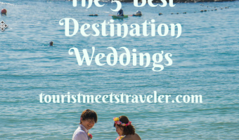 Revealed: The 5 Best Destination Weddings