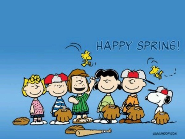 Nothing Says Spring Like Snoopy And The Peanuts Gang Win