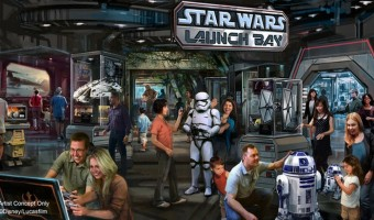 Star Wars Attractions – Disney World in Florida and Disneyland in California Rollout Star Wars