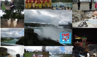 Tourist Meets Traveler Meets with Major Media in Niagara Falls USA at TMS Family Travel Conference