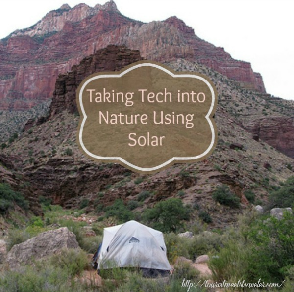 Taking Tech into Nature using Solar