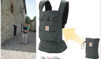 """Giveaway: Ergobaby Stowaway Olive Carrier """"Ideal For Traveling With Your Baby"""""""