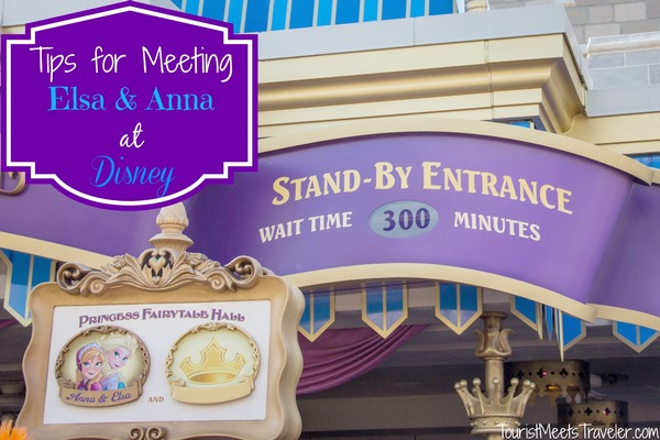 Tips for Meeting Frozen Princesses Elsa and Anna at Disney