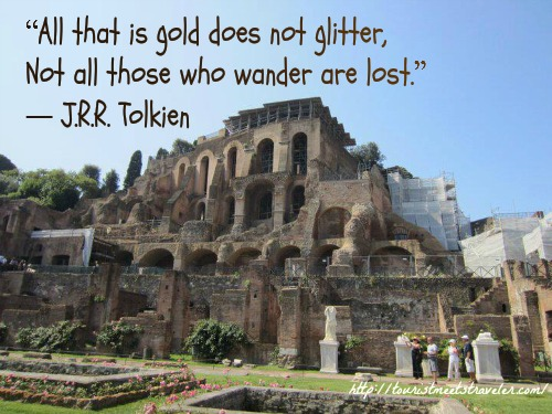Inspirational Travel Quotes Tourist Meets Traveler