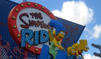 "The Simpsons at Universal Studios Florida ""Exciting Family Fun"""