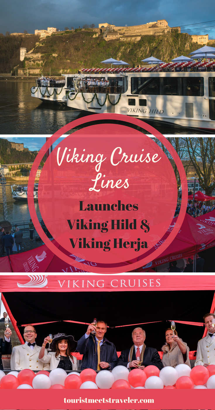 Viking River Cruises Launches Two New Ships - Viking Hild and Viking Herja