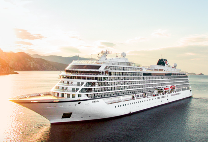 Viking Ocean Cruises Celebrates Float Out Ceremony For Viking Sun - How do cruise ships float