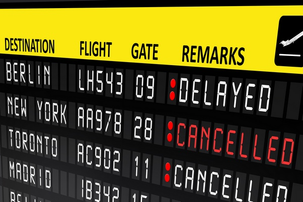What to Do When Your Flight is Cancelled or Delayed