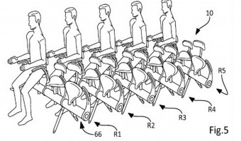 New Proposed Airplane Seats Look…Interesting