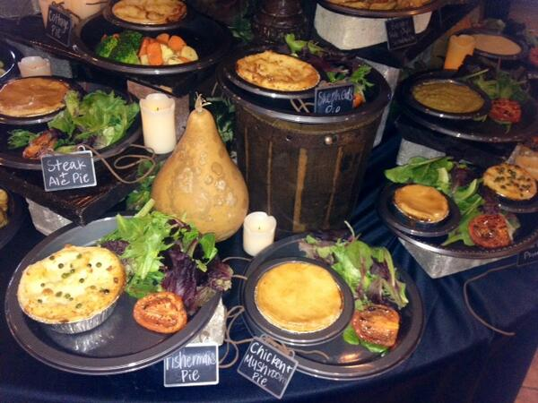 diagon alley leaky cauldron food
