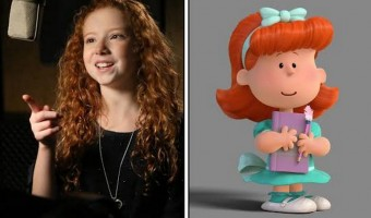 Francesca Capaldi – Meet the Little Red Haired Girl from 'The Peanuts Movie'