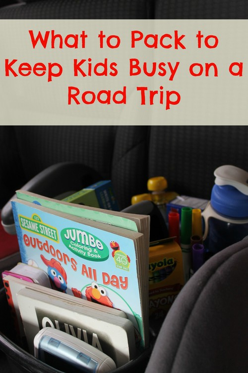 Traveling with Kids: What to Pack to Keep Kid's Busy On A Road Trip