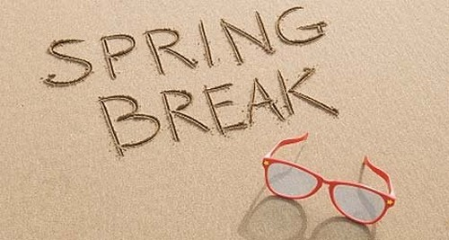 Spring Break Vacation Destinations 2014 – Recharge Yourself and Drop the Winter Blues